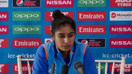 #WWC17 SF2 - AUS v IND - Mithali Raj pre-match press conference