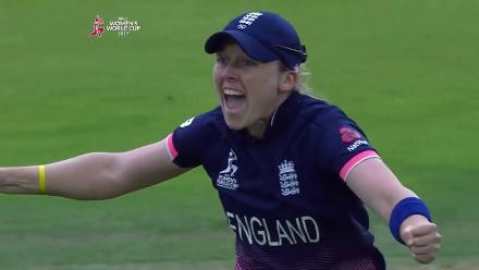 #WWC17 FINAL: England players celebrate as India goes down by nine runs