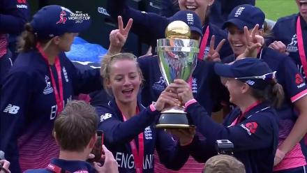 #WWC17 Final: England's victory lap
