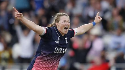 Anya Shrubsole finished with six wickets to bowl England to a close 9-run win.