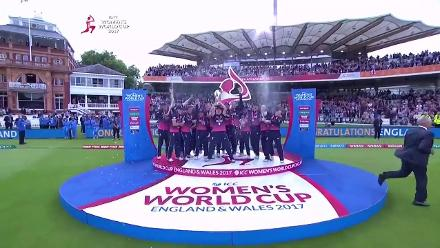 #WWC17 Final: England lift their fourth World Cup title