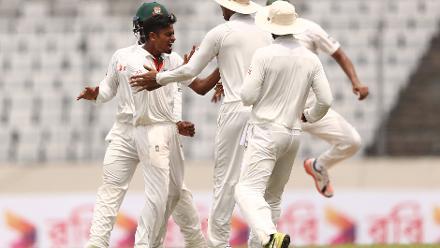 Bangladesh v Australia, 1st Test, Day 3, Dhaka