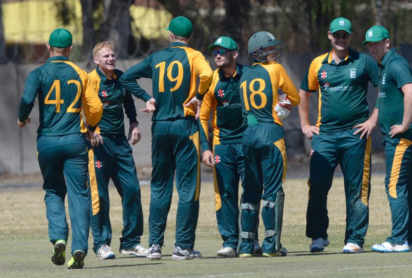 Guernsey rebounded from Monday's defeat to Germany with a fine display to see off Cayman Islands by six wickets.