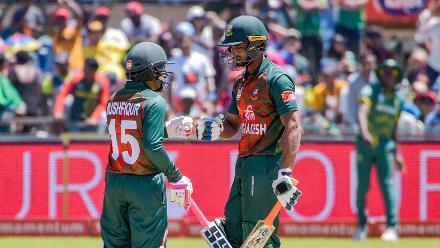 South Africa v Bangladesh, 1st ODI, Kimberley