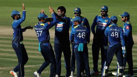 Pakistan v Sri Lanka, 2nd ODI, Abu Dhabi