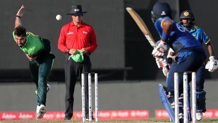 Pakistan v Sri Lanka, 4th ODI, Sharjah