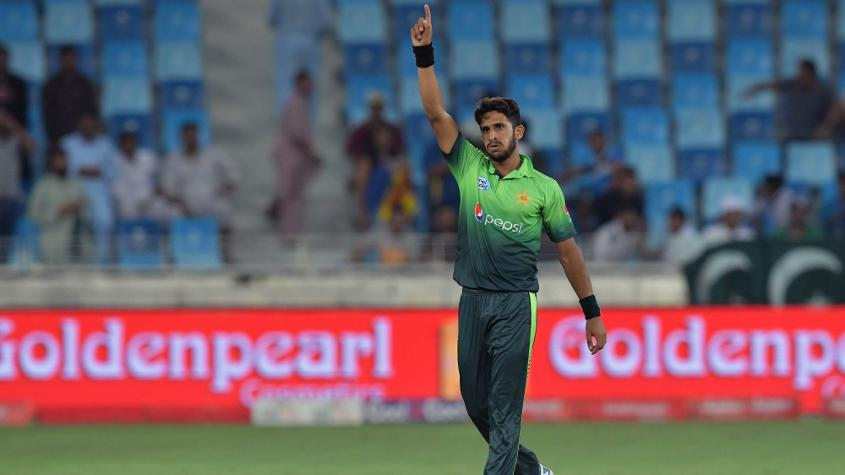 Hasan Ali moved up six places to become the fifth bowler at the top of the ODI rankings this year.
