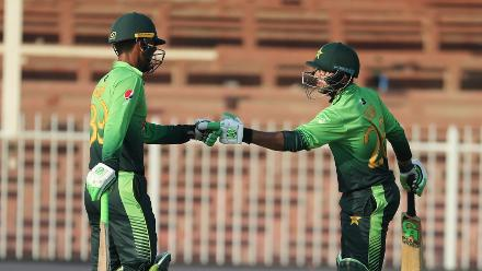 Pakistan v Sri Lanka, 5th ODI, Sharjah