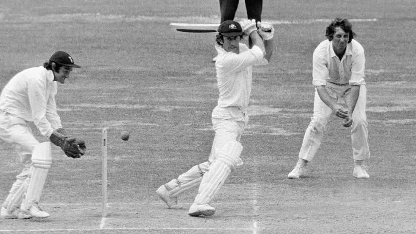 It was a sweltering day in London as the hottest Ashes Test played in England was at Lord's in 1975.