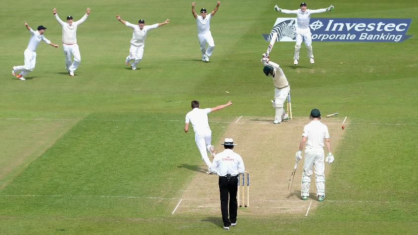 England sealed a brilliant win in Nottingham, winning the 2015 Ashes.