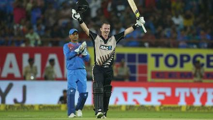Martin Guptill chipped in with 45 off 41 but it was Colin Munro who wreaked havoc with a century