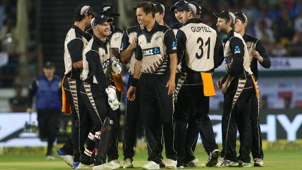 New Zealand wrapped up a 40-run win, levelling the series 1-1.