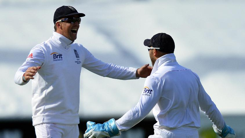 Graeme Swann bowled a rather interesting over in the Brisbane Test of the 2013-14 Ashes.