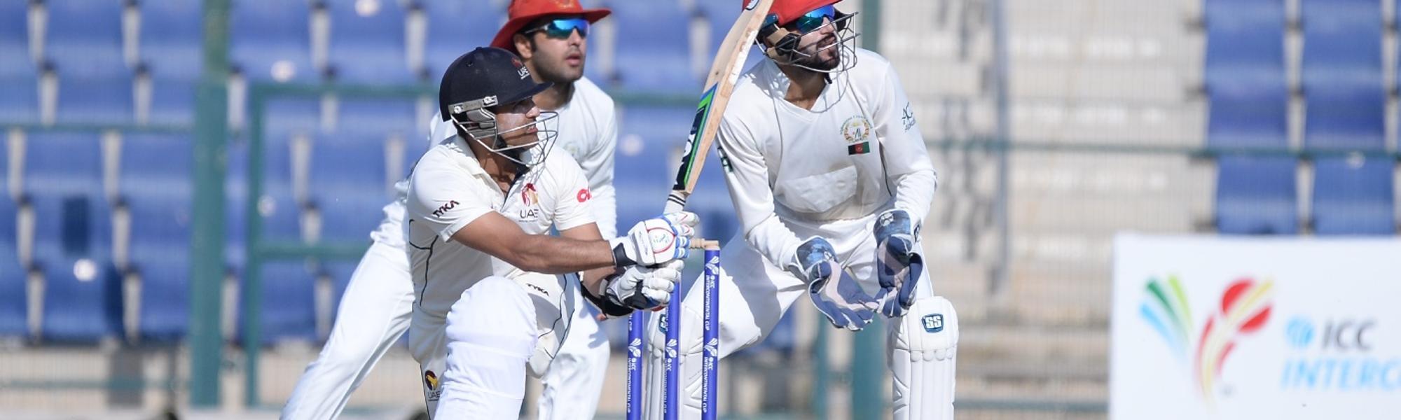 UAE batting