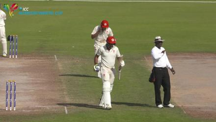 HKG v PNG Day 3 - Viral clip 1 - Hayat double century celebration
