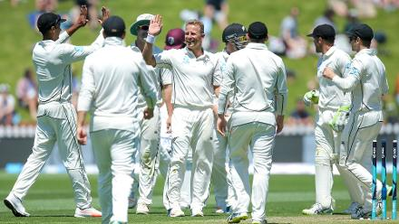 Neil Wagner was brilliant with his career-best seven wickets as Windies were bowled out for 134.
