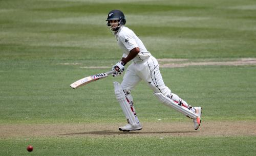 New Zealand openers, Jeet Raval and Tom Latham, gave their side a start of 65 runs before Latham was out to Miguel Cummins on 22