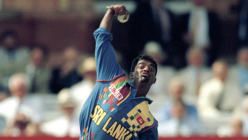 Muralitharan's ICC Cricket World Cup debut came against Zimbabwe.