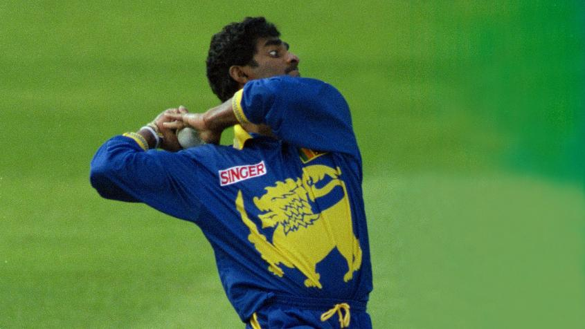Murali played in five Cricket World Cups between 1996 and 2011.