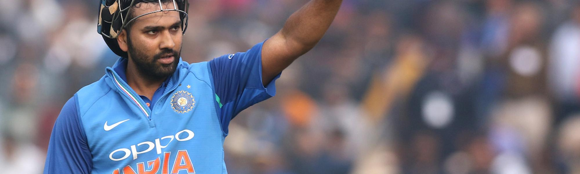 There was no stopping Rohit (208*) once he crossed his century, smashing his next 100 runs in just 36 deliveries to bring up his third double-century in ODIs as India reached a towering 392 for 4 in its 50 overs.