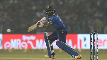 Sri Lanka didn't get off to a great start, losing Niroshan Dickwella and Upul Tharanga early on