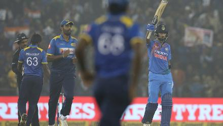 India v Sri Lanka, 1st T20I, Cuttack