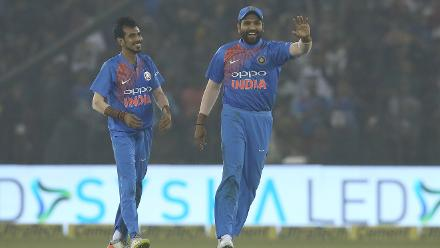 Chahal claimed 4 for 23 as India sealed a 93-run victory over Sri Lanka in the first T20I