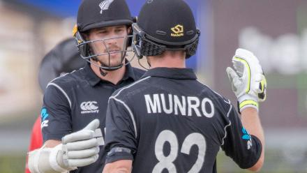 New Zealand v West Indies, 1st ODI, Whangarei