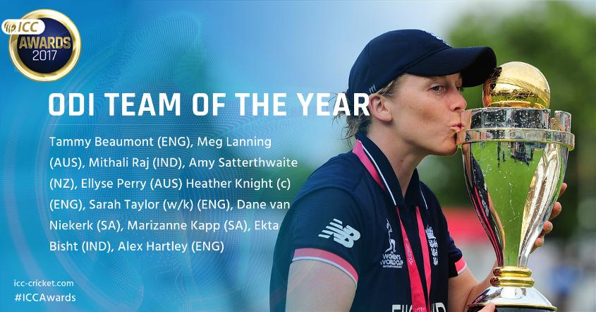 Women's ODI Team of the Year