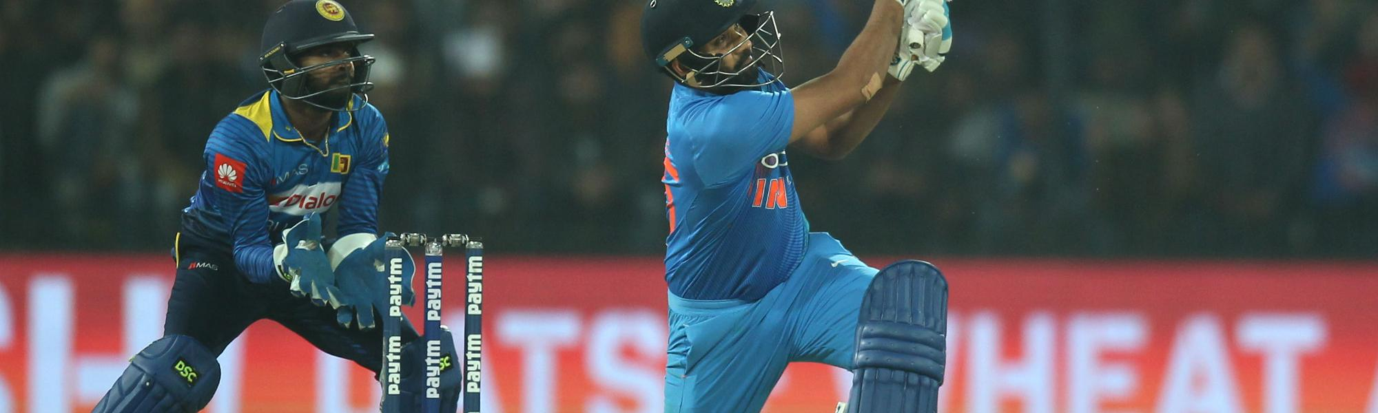 The Indian captain was in fine form smashing 12 boundaries and 10 sixes in his innings.