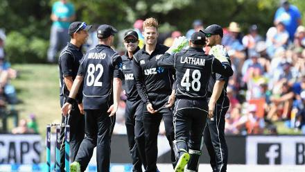 Lockie Ferguson dented the Windies middle order with three wickets in ten deliveries.