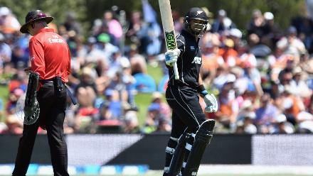 Ross Taylor also chipped in with a 66-ball 57 to keep the scoreboard moving.
