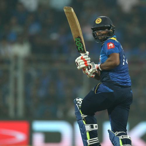 Asela Gunaratne was Sri Lankas top scorer with 36 off 37 balls.