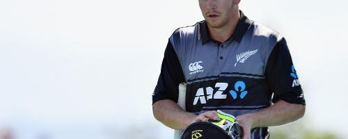 Apart from an 86-run stand for the second wicket by Colin Munro (53) and Glenn Phillips (56), New Zealand struggled for runs.