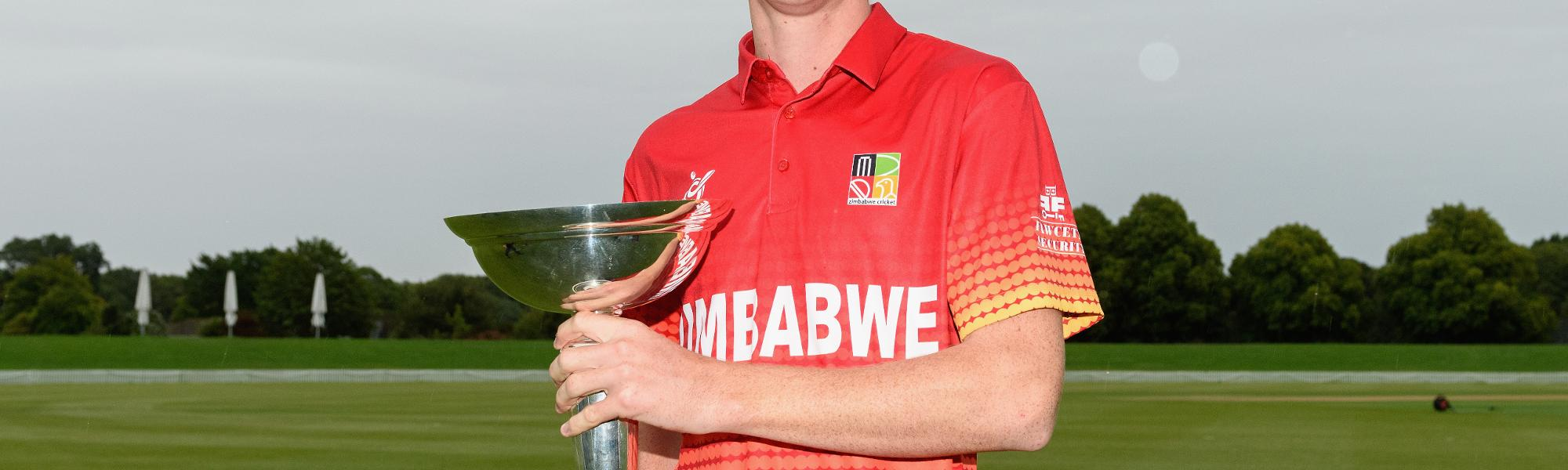 Zimbabwe U19s - Liam Roche