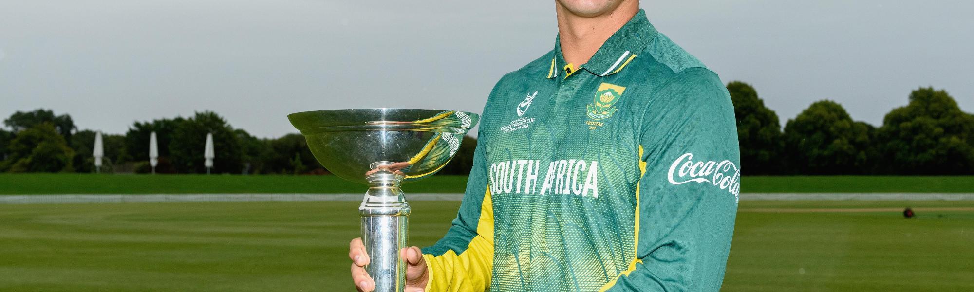 South Africa U19s - Raynard van Tonder