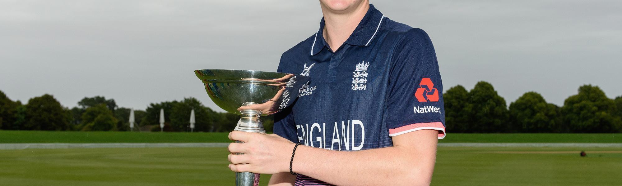 England U19s - Harry Brook