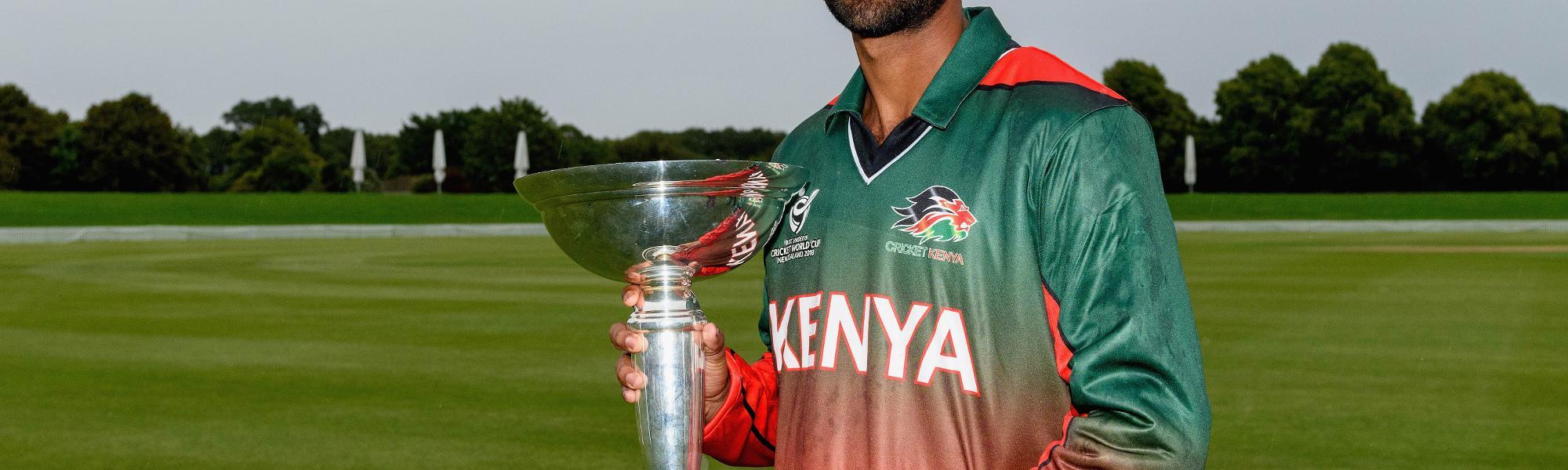 Kenya U19s - Sachin Bhudia
