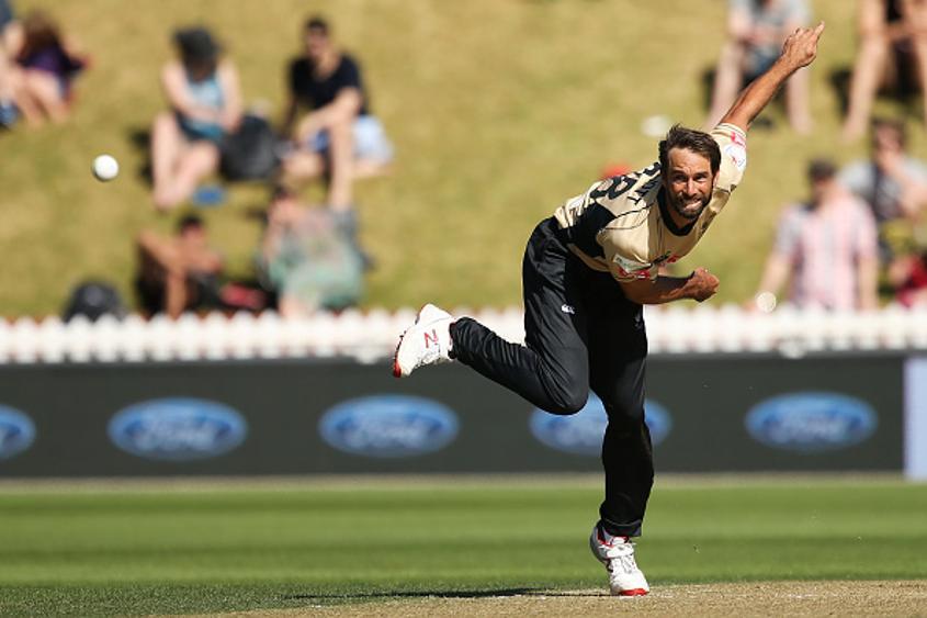 New Zealander Grant Elliott