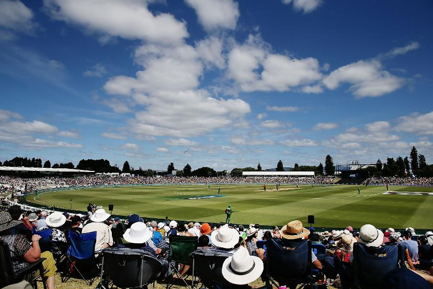 The Bay Oval is a relatively new international venue