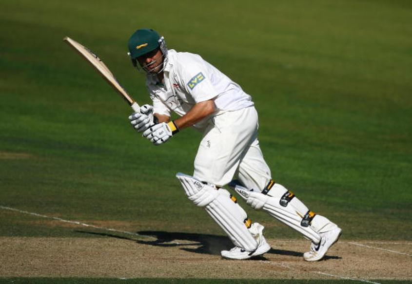 HD Ackerman playing for Leicestershire