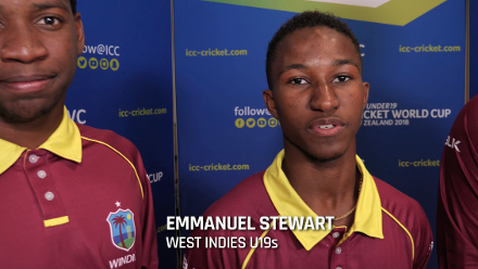 ICC U19 CWC - West Indies support message