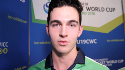 ICC U19 CWC - Ireland support message