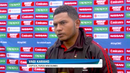 Vagi Karaho speaks ahead of Zimbabwe match