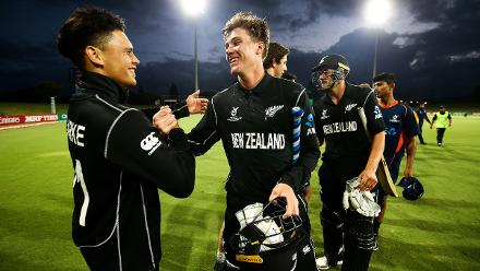 New Zealand U19s overcame West Indies U19s