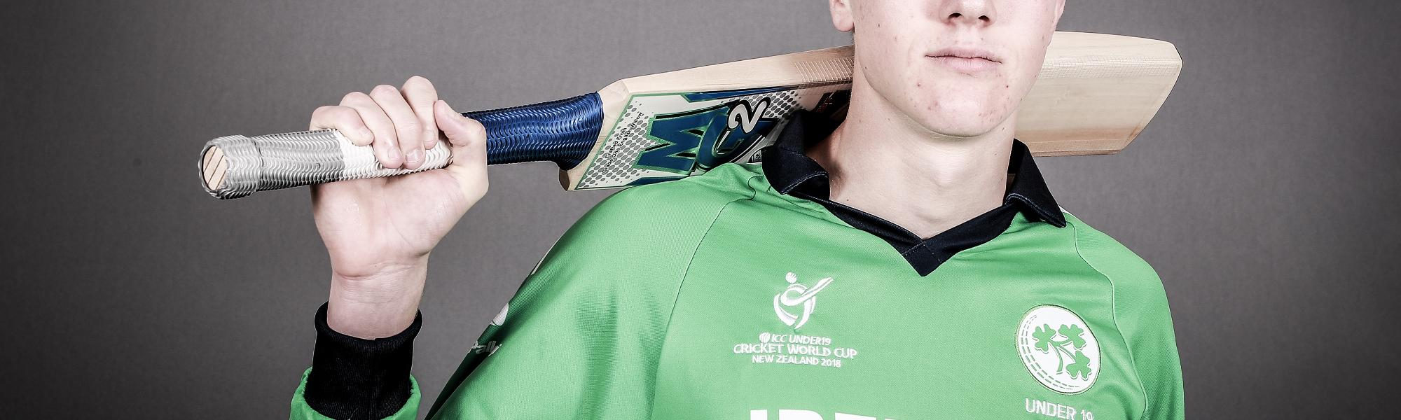Harry Tector scored a century in Ireland's warm-up match against England