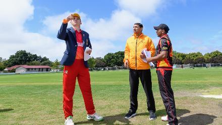 ICC U19 CWC: Papua New Guinea v Zimbabwe