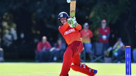 Opener Gregory Dollar struck 41 to help guide Zimbabwe past Papua New Guinea's total with six overs to spare