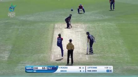 England U19s lost just two wickets in their successful chase against Namibia