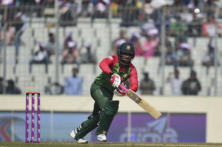 Tamim Iqbal top-scored for Bangladesh